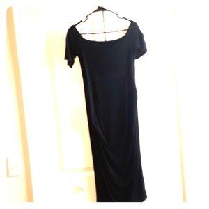 🖤Asos Maternity midi off shoulders bodycon dress